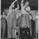 Jiřina a Josef Skupovi na pohostinském vystoupení Divadla Spejbla a Hurvínka v Moskvě, 1949