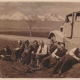 Zájezd do Vysokých Tater, první zprava Josef Skupa, vedle něj Jan Vavřík-Rýz, 1937